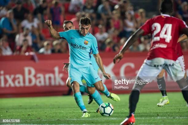 29 Munir from Spain of FC Barcelona during the friendly match between Nastic vs FC Barcelona at Nou Estadi de Tarragona on August 4th 2017 in...