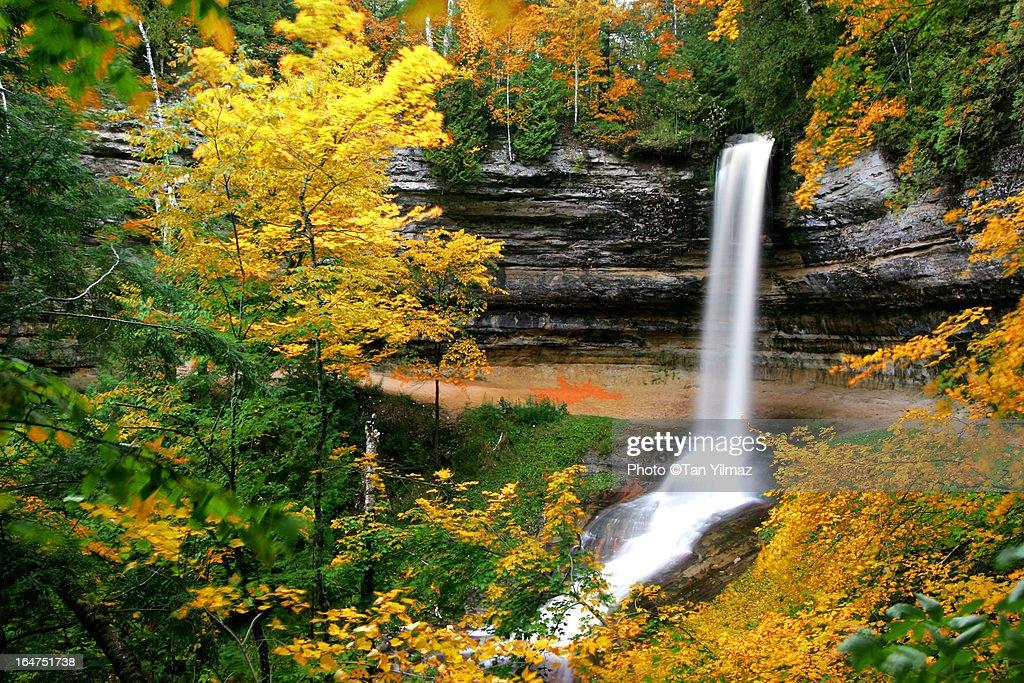 Munising Falls : Stock Photo