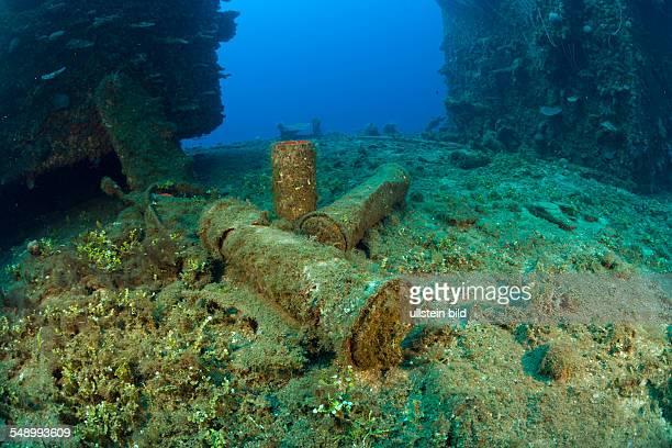 Munition on USS Saratoga Marshall Islands Bikini Atoll Micronesia Pacific Ocean