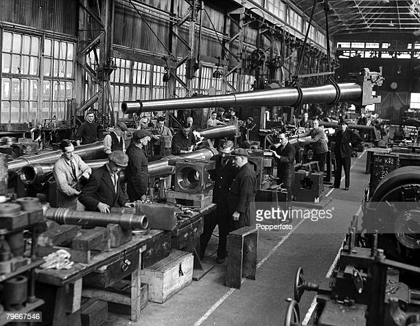 A munitions factory in England during World War II 4th November 1938