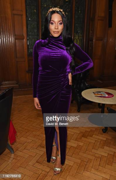 Munroe Bergdorf attends the Gold Movie Awards 2020 at the Regent Street Cinema on January 9, 2020 in London, England.