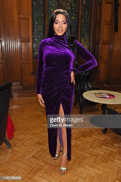 Munroe Bergdorf attends the Gold Movie Awards 2020 at the Regent Street Cinema on January 9 2020 in London England