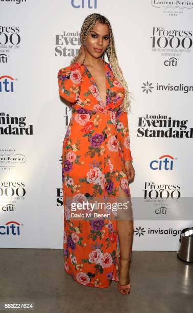 Munroe Bergdorf attends The London Evening Standard's Progress 1000 London's Most Influential People in partnership with Citi on October 19 2017 in...
