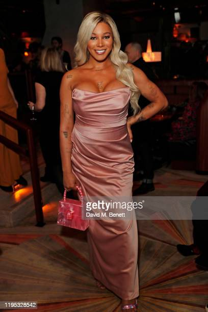 Munroe Bergdorf attends the Vanity Fair EE Rising Star Award Party ahead of the 2020 EE BAFTAs at The Standard London on January 22, 2020 in London,...