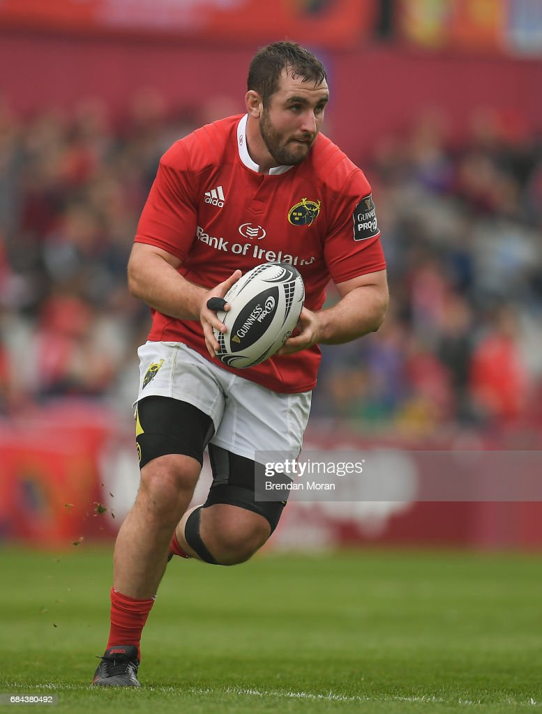 Munster , Ireland - 6 May 2017; James Cronin of Munster during the Guinness PRO12 Round 22 match between Munster and Connacht at Thomond Park, in Limerick.