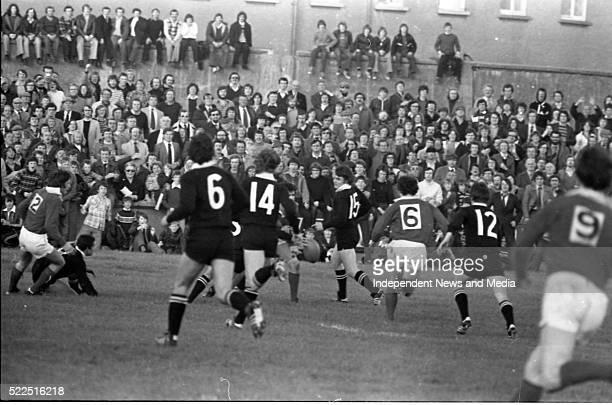 Munster v All Blacks, . Munster won 12-0. Thomond Park. . .