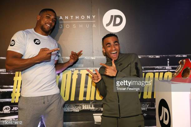 Munya Chawawa attends as JD's Anthony Joshua hosts his #KingOfTheAirwaves radio show live on TikTok with a host of special guests including Munya...