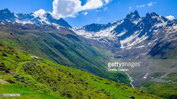 Muottas Muragl (2,454 m), Val Muragl (Graubünden, Switzerland)