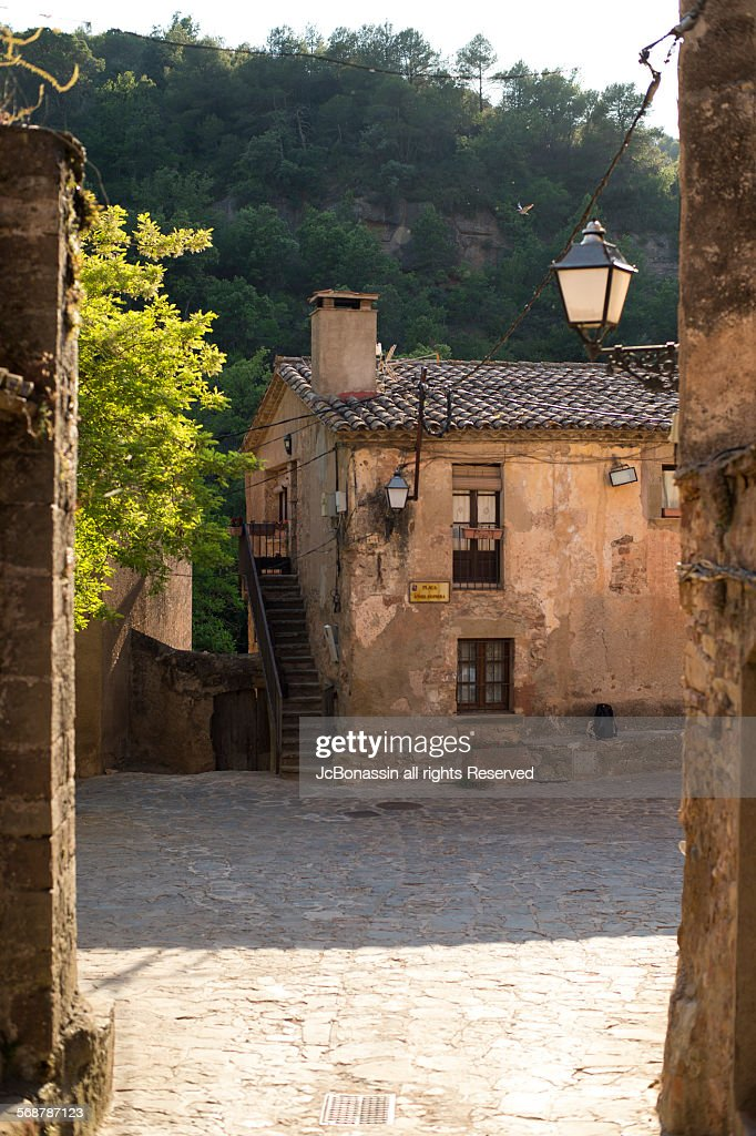 Mura Town Catalunya Spain High-Res Stock Photo - Getty Images