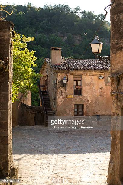mura town  catalunya spain - jcbonassin stock pictures, royalty-free photos & images