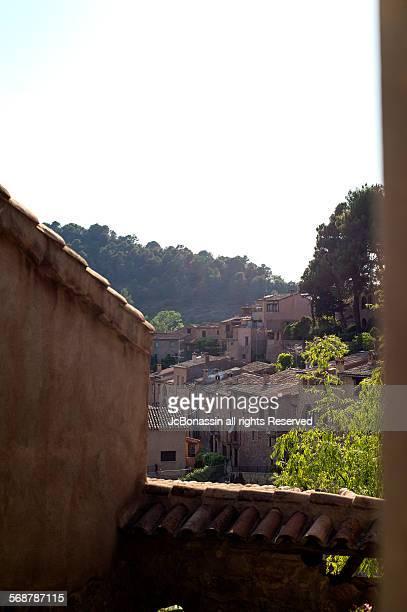 mura town in catalunya spain - jcbonassin stock pictures, royalty-free photos & images