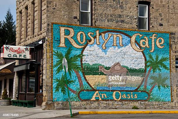 Mural at the Roslyn Cafe