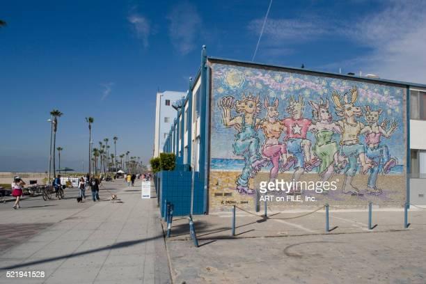 Mural at Venice Beach