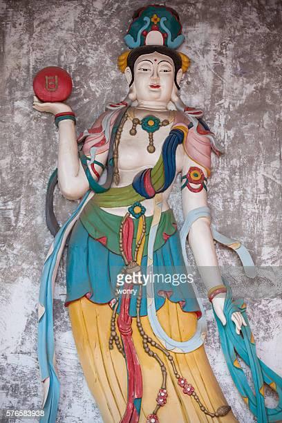 Mural Buddhism Patterns