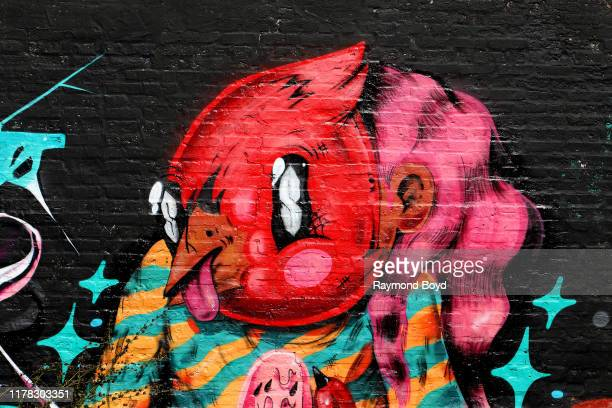 A mural by Joseph u2018Sentrocku2019 Perez is displayed in the Englewood neighborhood in Chicago Illinois on September 23 2019 MANDATORY MENTION OF...