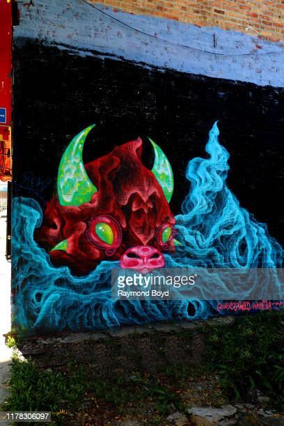 A mural by Natalie u2018urban Warrioru2019 Shugailo is displayed in the Englewood neighborhood in Chicago Illinois on September 23 2019 MANDATORY...