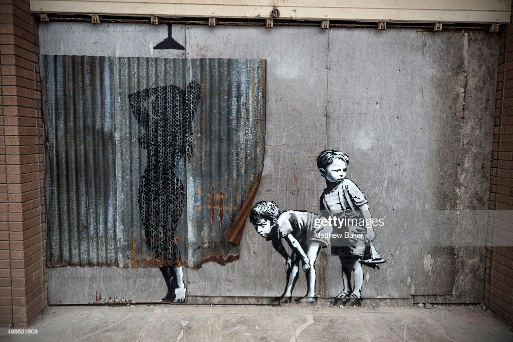 General Views Of Banksy's Dismaland : News Photo