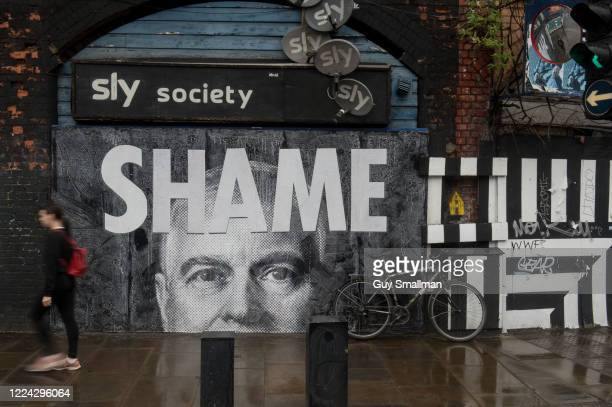 A mural of Prince Andrew Duke of York is seen in Shoreditch on July 1 2020 in London England The prince has come under increased scrutiny over his...