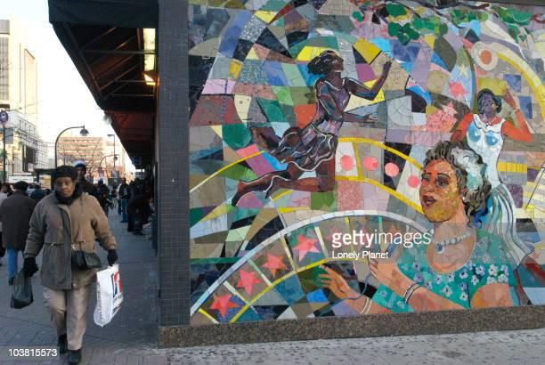 Mural on 125th street.