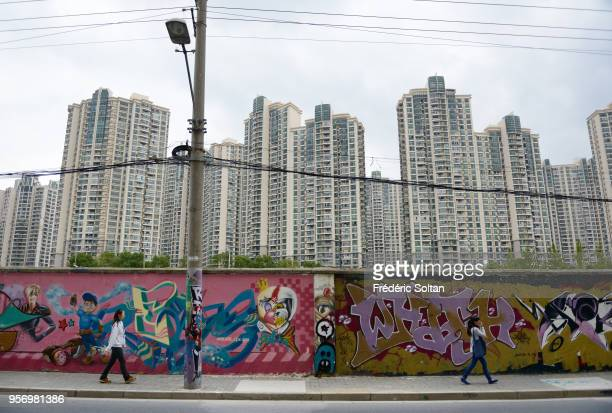 Mural painting and graffitis in Shanghai In recent years a large number of architecturally distinctive and even eccentric buildings have sprung up...