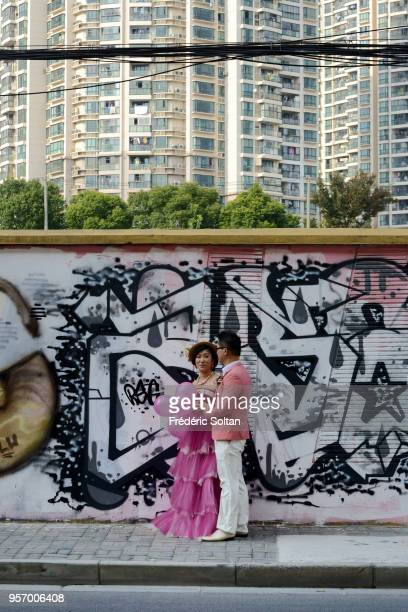 Mural painting and graffitis in Shanghai. In recent years, a large number of architecturally distinctive and even eccentric buildings have sprung up...