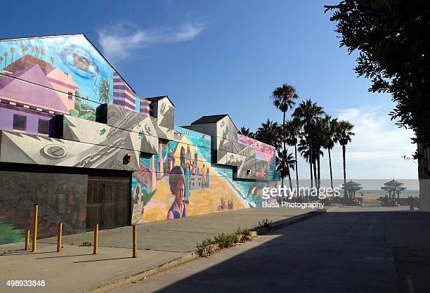 Venice california mural stock photos and pictures getty for California mural