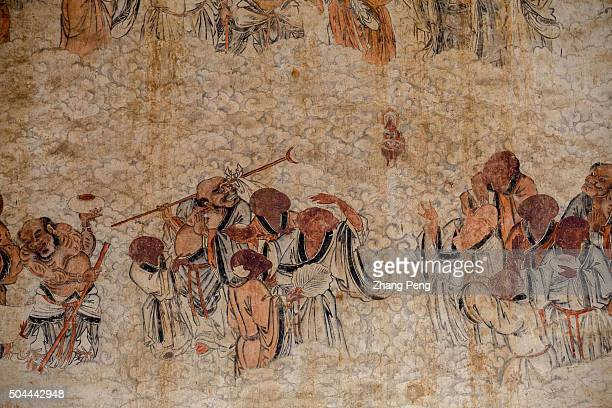 Mural paintings of early 19th century in the temple The Shaolin Monastery or Shaolin Temple is a Chan Buddhist temple and famous for its Chinese...
