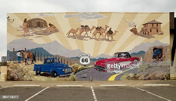 Mural Route 66 Truxton Arizona