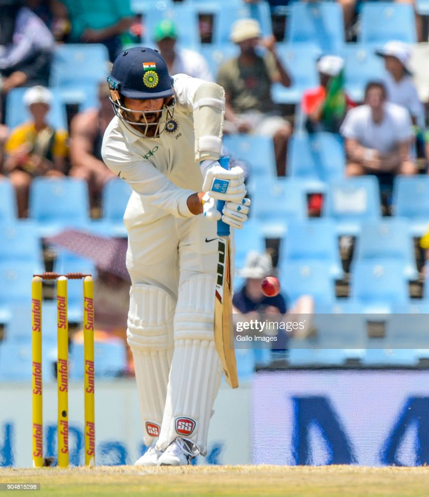 South Africa v India - 2nd Test, Day 2