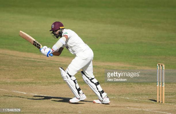 Murali Vijay of Somerset bats during Day Three of The Specsavers Division One County Championship match between Hampshire and Somerset at Ageas Bowl...