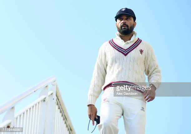 Murali Vijay of Somerset takes to the field during Day Three of The Specsavers Division One County Championship match between Hampshire and Somerset...