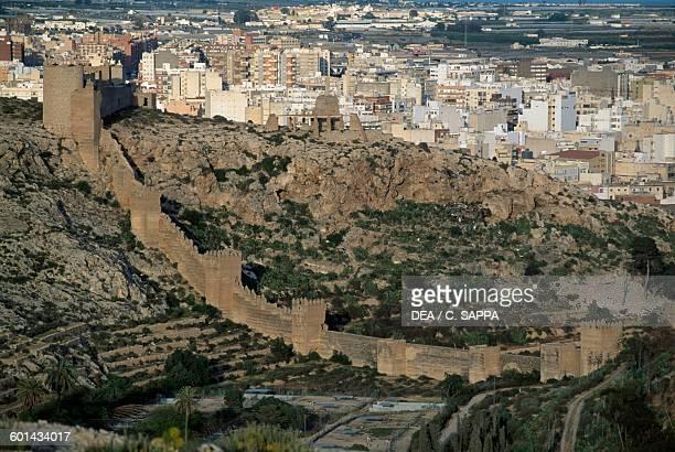 Muralla de la Hoya Almeria Andalusia Spain 11th century