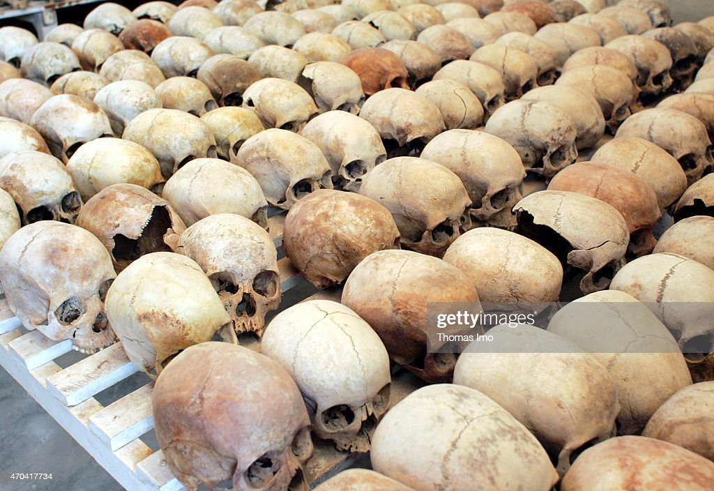 Murambi Genocide Memorial Centre... : News Photo