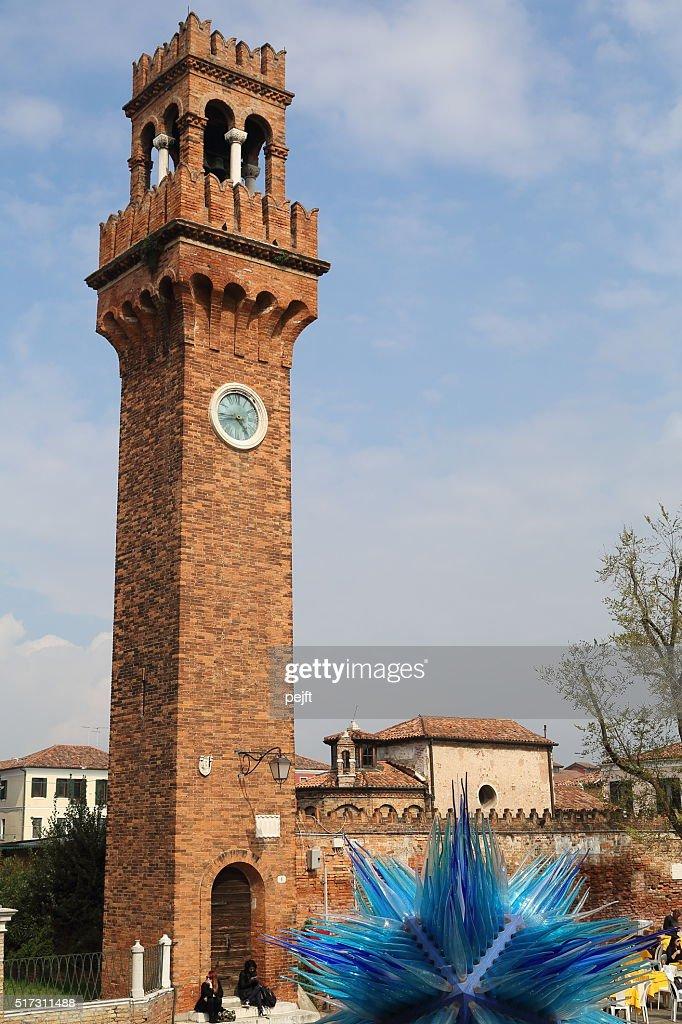 Murano: Campo Santo Stefano - Venice logoon : Stock Photo