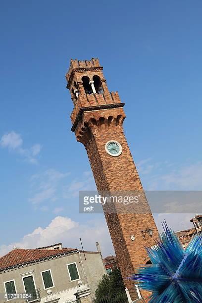 Murano: Campo Santo Stefano - Venice logoon