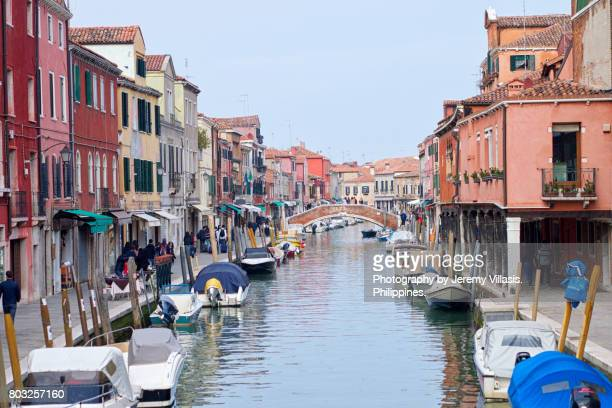 murano, venice, italy - murano stock pictures, royalty-free photos & images
