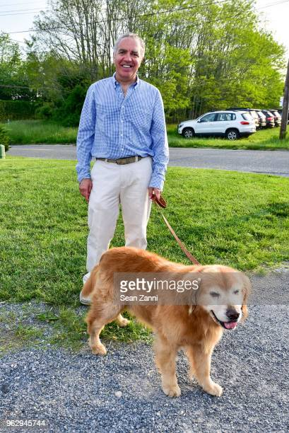 Murat Beyazit and Papiko attend ARF Thrift Shop Designer Show House Sale at ARF Thrift Treasure Shop on May 26 2018 in Sagaponack New York