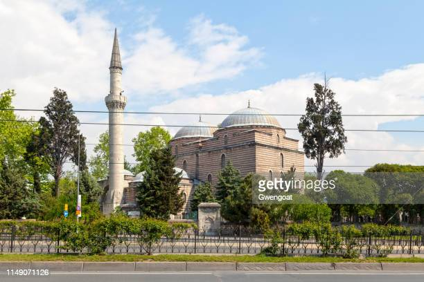 murat pasha mosque in istanbul - gwengoat stock pictures, royalty-free photos & images