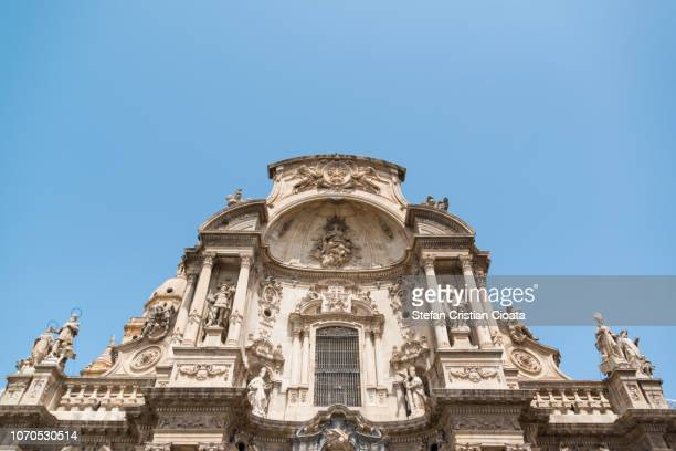 murcia cathedral spain - murcia - fotografias e filmes do acervo