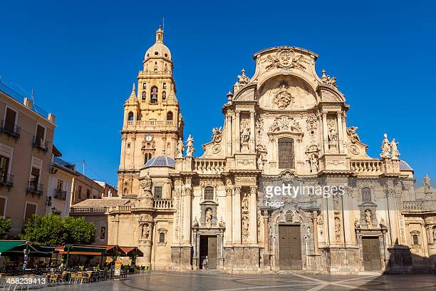 catedral de murcia, espanha - murcia - fotografias e filmes do acervo
