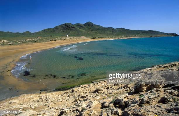 Murcia. Spain. Calblanque Beach.