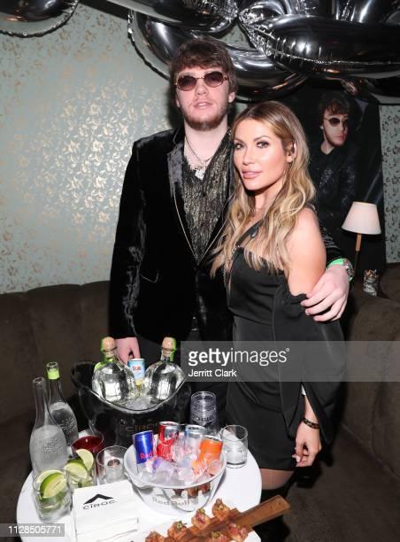 Murda Beatz and Melissa Andre attend Murda Beatz 25th Birthday GRAMMY Celebration on February 08 2019 in West Hollywood California