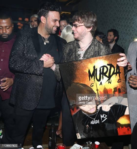 Murda Beatz celebrates his 25th Birthday GRAMMY Celebration with friends on February 08 2019 in West Hollywood California