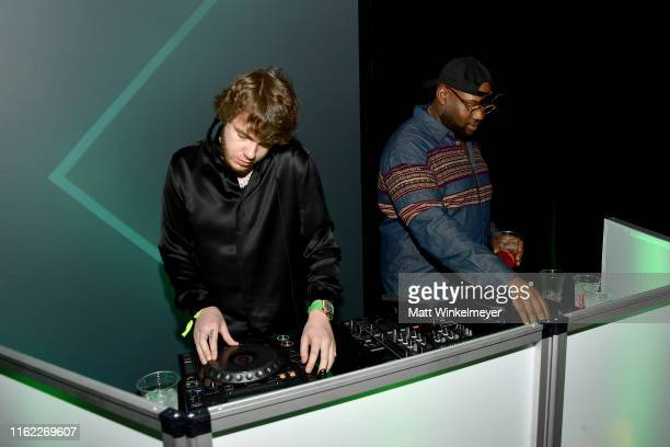 Murda Beatz DJs at the 34th Annual CedarsSinai Sports Spectacular at The Compound on July 15 2019 in Inglewood California