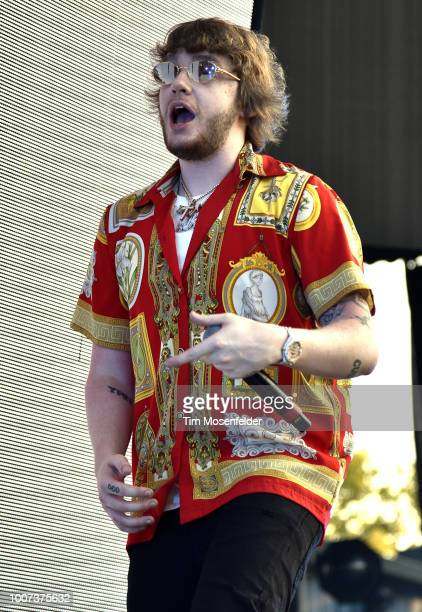Murda Beatz performs during The Endless Summer Tour at Toyota Amphitheatre on July 28 2018 in Wheatland California