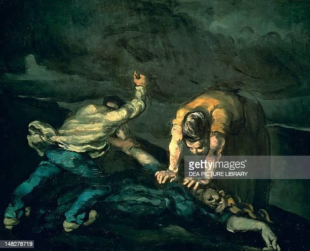 Murder 18691870 by Paul Cezanne oil on canvas 65x81 cm Liverpool Walker Art Gallery