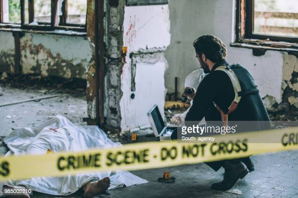 殺人事件 - 検死官 ストックフォトと画像