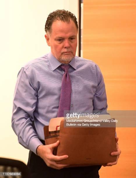 Murder defendant Charles Ray Merritt enters San Bernardino County Court prior to the beginning of closing statements in San Bernardino Tuesday May 28...