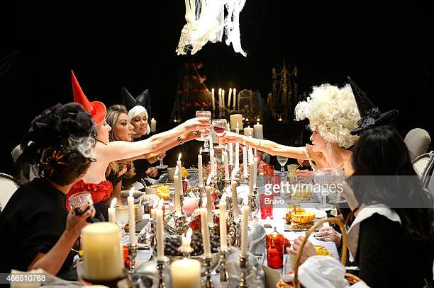 MELBOURNE Murder Mystery Party Episode 202 Pictured Jackie Gillies Gina Liano Pettifleur Bringer Lydia Schiavello Gamble Breaux