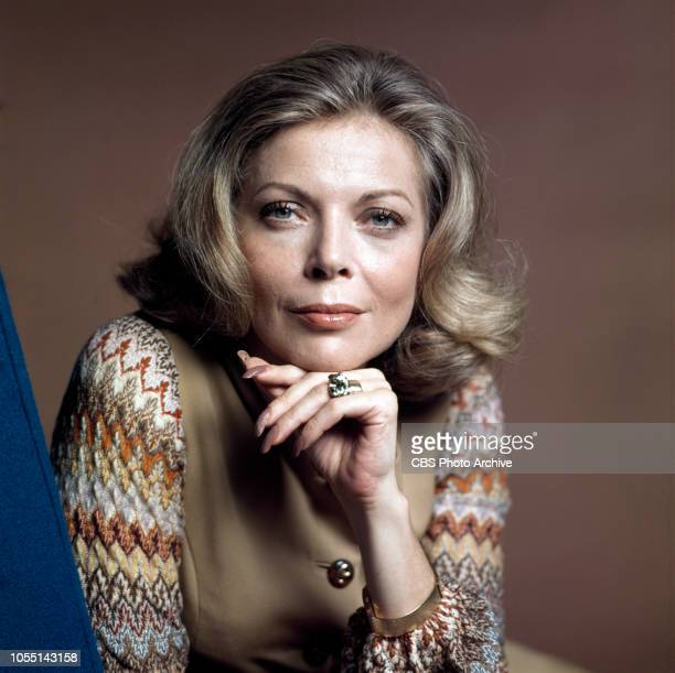 Murder Once Removed a made for TV movie Originally broadcast October 29 1971 Pictured is Barbara Bain